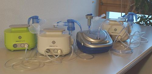 4 Inhalatoren im Test