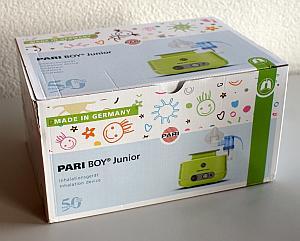 Verpackung des PARI BOY Junior