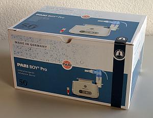 Verpackung des PARI BOY Pro