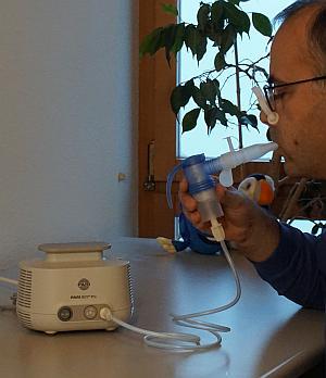 PEP S für Inhalationstherapie und Atemwegsphysiotherapie